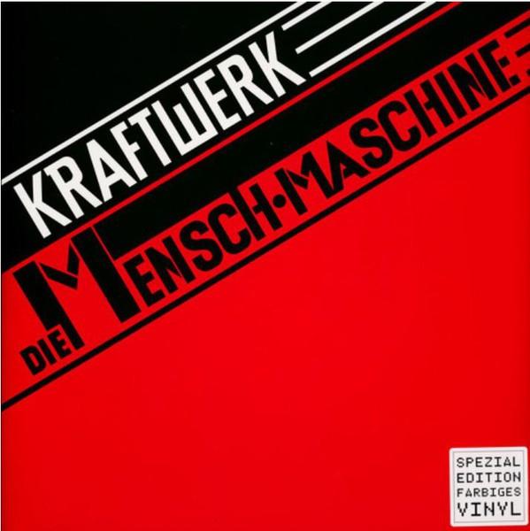 Kraftwerk - Die Mensch Maschine Limited German Red Vinyl