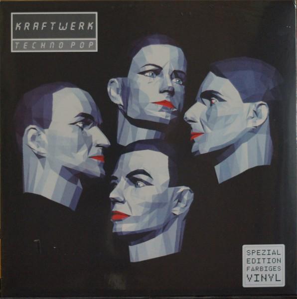 Kraftwerk - Techno Pop Limited German Clear Vinyl