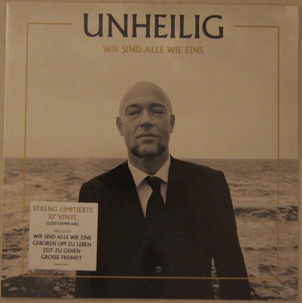"""Unheilig - Wir sind alle wie eins Ltd. 10"""" Single Vinyl"""