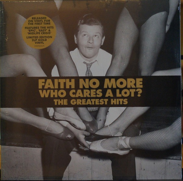 Faith No More - Who cares a lot? The Greatest Hits Limited Gold Vinyl Edition