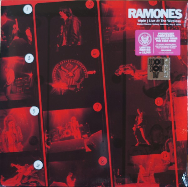Ramones - Triple J live at the wireless Record Store day 2021 Vinyl