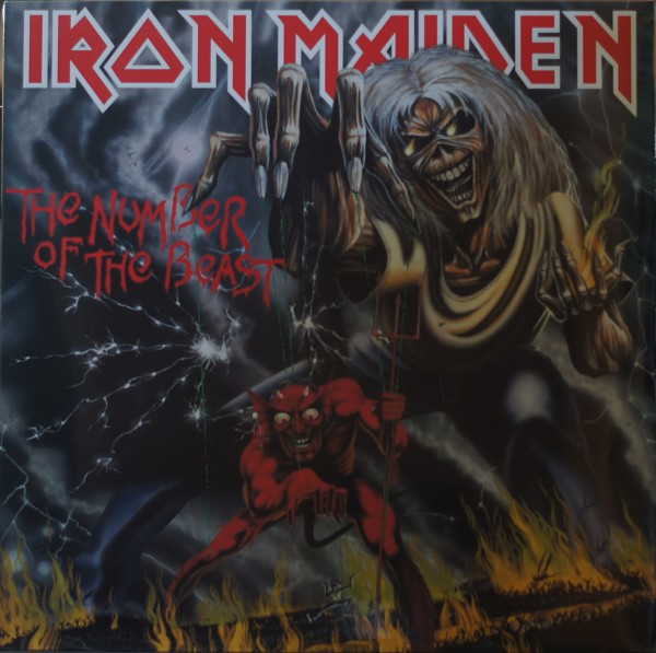 Iron Maiden - The number of the beast (Vinyl)