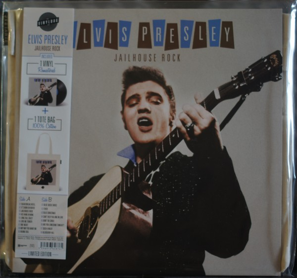 Elvis Presley - Jailhouse Rock Vinyl inklusive Bag