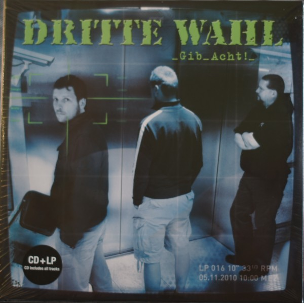 Dritte Wahl - Gib Acht! Vinyl 10´´ inklusive CD