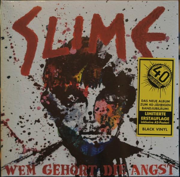 Slime - Wem gehört die Angst (limitierte Erstauflage Black Vinyl) (Vinyl)