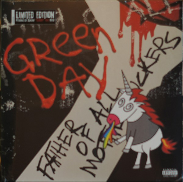 """Green Day - Father of all... (Limited """"Cloudy"""" Red Edition) (Vinyl)"""