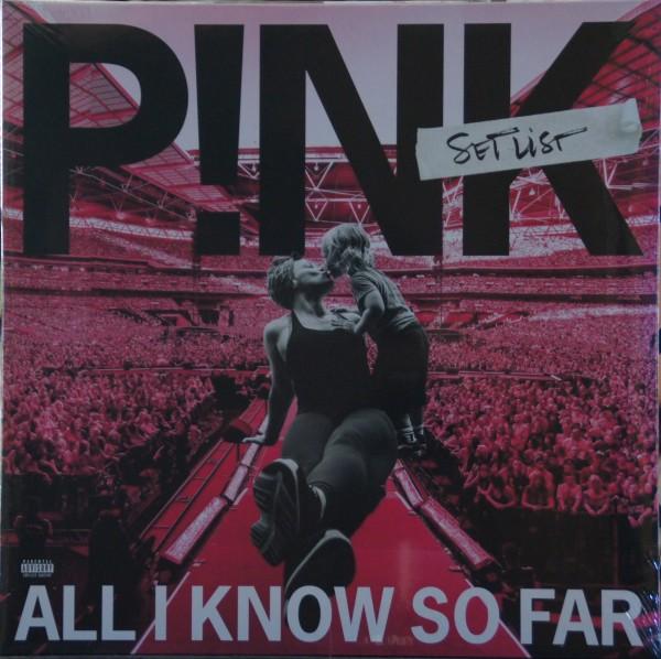 P!nk - All I know so far - Set list (Vinyl)