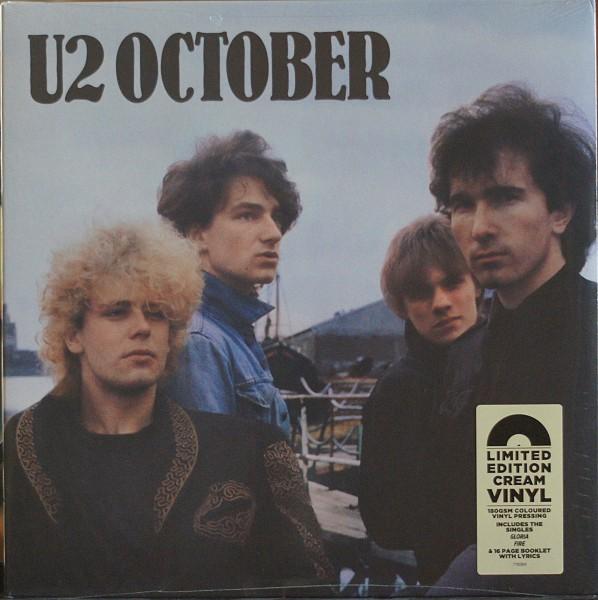 U2 - October Limited Edition Cream Vinyl