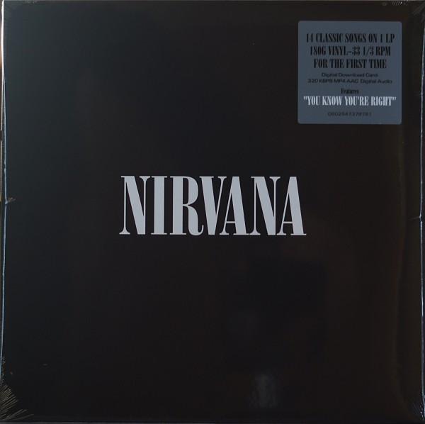 """Nirvana - Nirvana 12"""" Vinyl"""