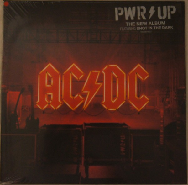 AC/DC - PWR/UP Ltd. Red Vinyl