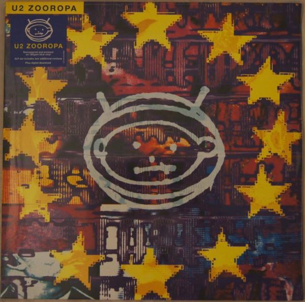 U2 - Zooropa Blue Vinyl