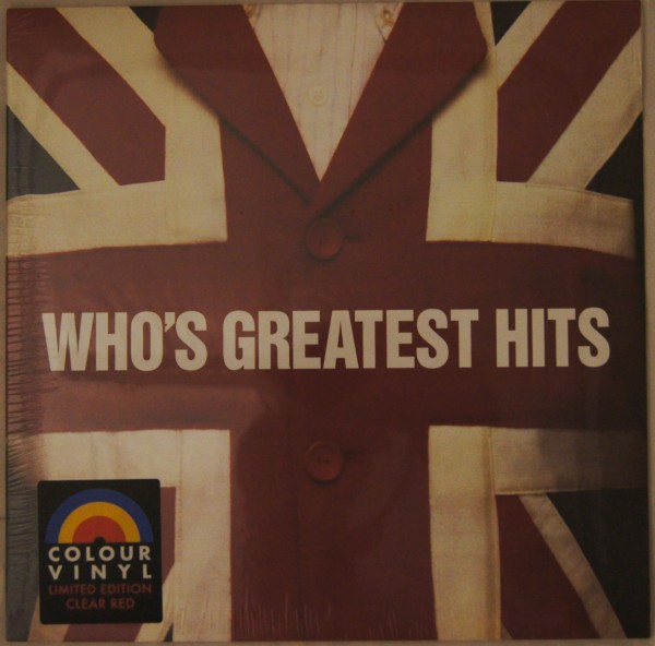 The Who - Whois greatest Hits Ltd.Clear Red Vinyl