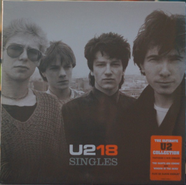 U2 - U218 Singles Vinyl