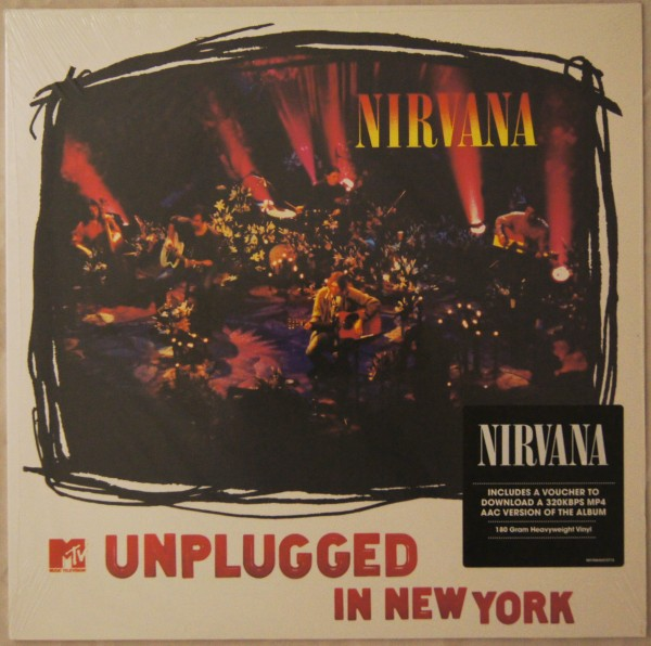 "Nirvana - MTV Unplugged in New York 12"" Vinyl"